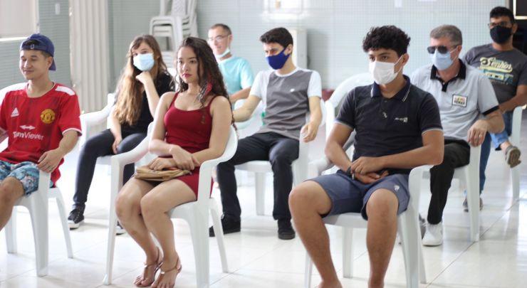 PRIMEIRA REUNIÃO E CRIAÇÃO DO NÚCLEO DE CIDADANIA DE ADOLESCENTES - NUCA