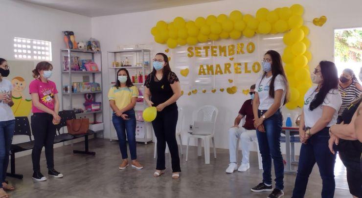 RODA DE CONVERSA EM PROL DA CAMPANHA SETEMBRO AMARELO