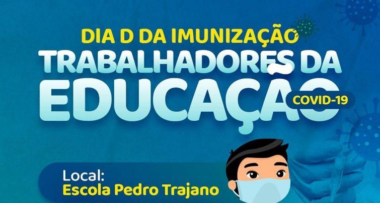 VACINAÇÃO COVID-19 TRABALHADORES DA EDUCAÇÃO (12/06/2021)