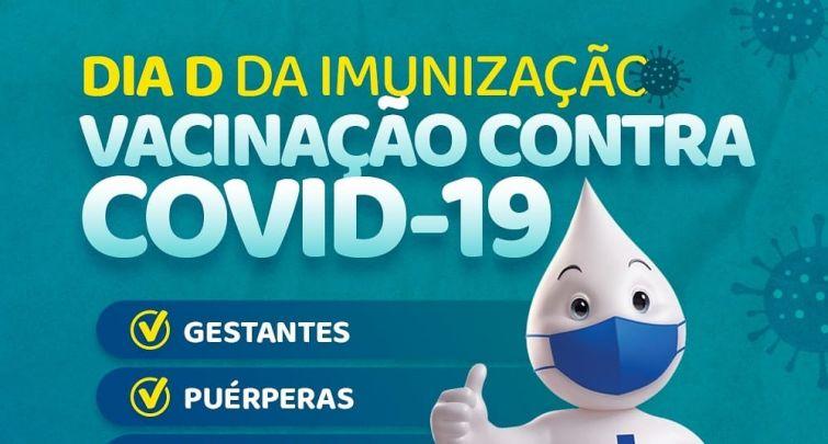 DIA D DA IMUNIZAÇÃO CONTRA COVID-19 (11/06/2021)