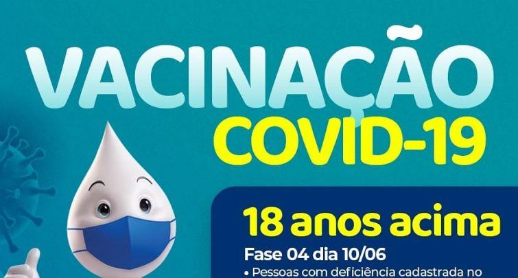 ATENÇÃO PESSOAS DE 18 ANOS ACIMA COM COMORBIDADES